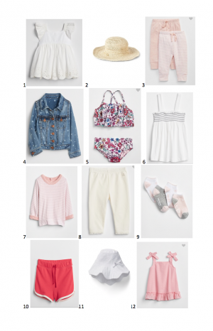 Gap Summer Must Haves